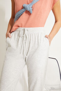 Womensecret Grey cotton jogger bottoms grey