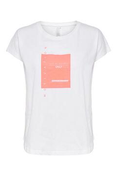 Womensecret T-shirt treino manga curta branco