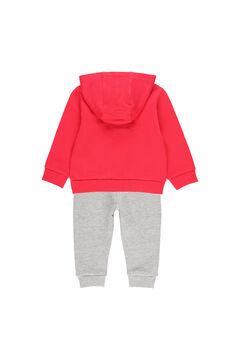 Womensecret Conjunto punto estampado de bebé y niño rojo