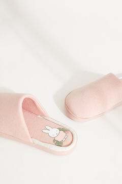 Womensecret Pink Miffy slippers pink