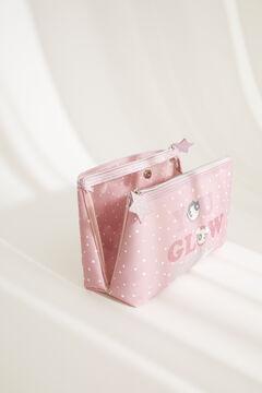Womensecret Medium neoprene Powerpuff Girls vanity case pink