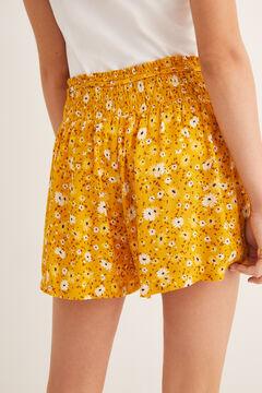 Womensecret Pantalón corto estampado estampado