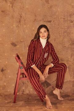 Womensecret Classic fleece cotton Gryffindor pyjamas red