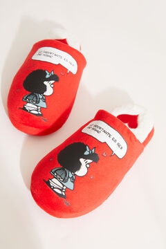 Womensecret Mafalda slingback slippers red