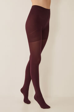 Womensecret Support tights 90 DEN red
