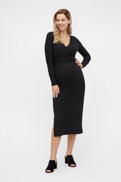 Womensecret Vestido maternity Midi preto