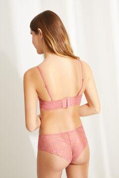 Womensecret BEAUTIFUL Sujetador clásico relleno encaje rosa rosa