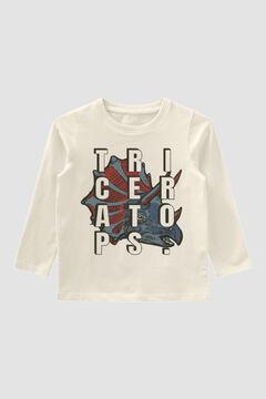 Womensecret T-shirt estampada criança branco