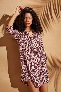 Womensecret Zebra print camisole white