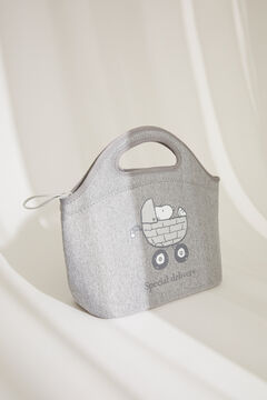 Womensecret Snoopy maternity lunch bag grey