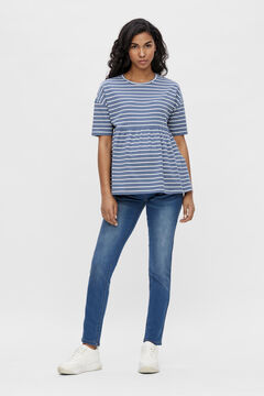 Womensecret Organic cotton maternity top blue