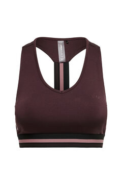 Womensecret Stretch back sports bra pink