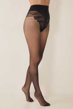Womensecret Support tights 15 DEN black