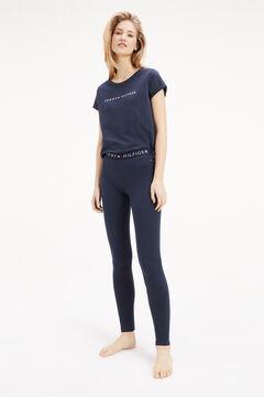 Womensecret Leggings de algodão azul