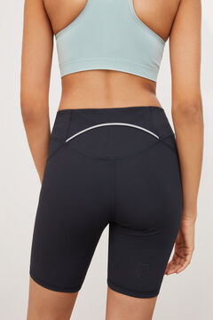 Womensecret Leggings curtas treino preto