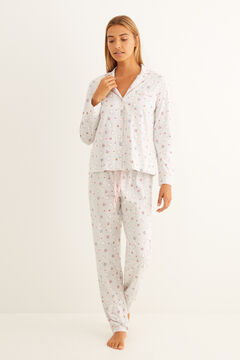 Womensecret Classic long grey Miffy pyjamas white