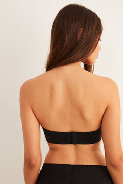 Womensecret Wireless strapless bra black
