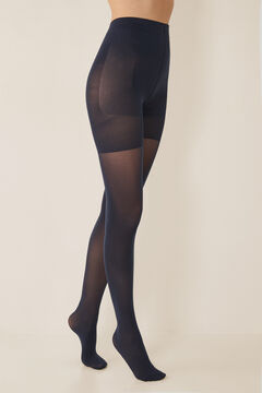 Womensecret Shaping tights 50 DEN blue
