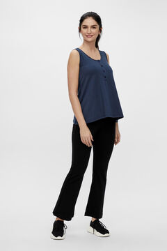 Womensecret 2-function strappy T-shirt blue