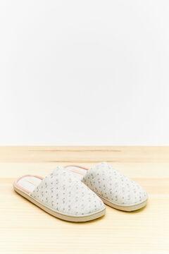 Womensecret Grey slider slippers grey