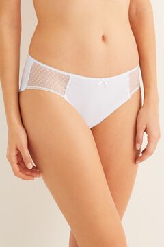Womensecret Cotton full panty beige