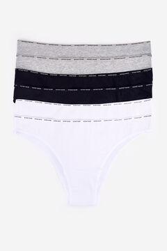 Womensecret 6 cotton brazilian panties pack printed