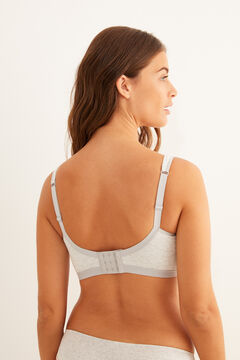 Womensecret FANTASTIC Post-Surgery bra with zip grey