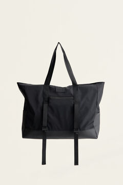 Womensecret Gym Bag Forever Sand black