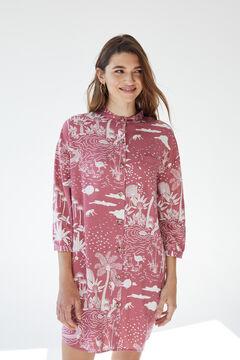 Womensecret Short camisole buttons pink