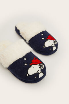 Womensecret Snoopy slingback slippers blue