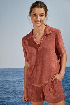 Womensecret Short comfy classic pyjamas red