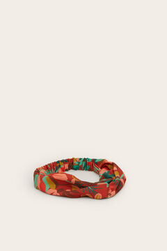 Womensecret Tropical knot bandana white