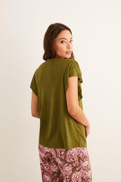 Womensecret T-shirt manches courtes imprimé