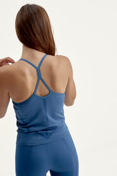 Womensecret Top Vinyasa Med Navy  azul