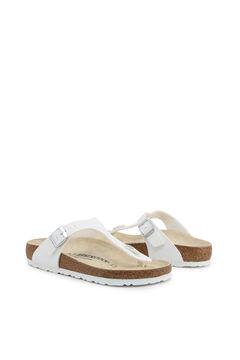 Womensecret White platform thong sandals white