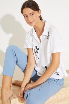 Womensecret Classic long cotton pyjamas beige