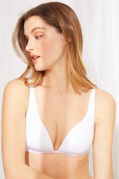 Womensecret Multiway triangle bra white