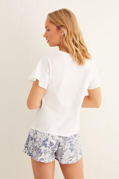 Womensecret Short Good Vibes pyjamas beige