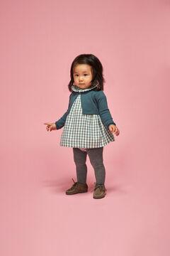 Womensecret Vestido Vichy bebé azul