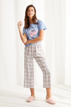 Womensecret Short cotton Pink Panther pyjamas blue