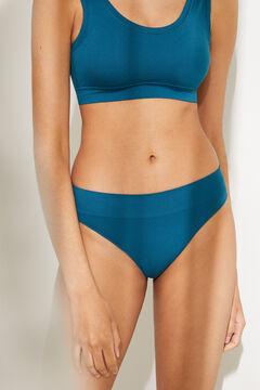 Womensecret Classic pink high waist seam-free panty blue