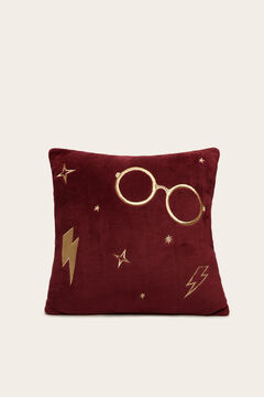 Womensecret Harry Potter maroon cushion printed