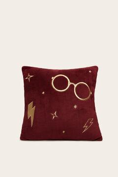 Womensecret Harry Potter mintás, gránátvörös párna rávasalt mintás
