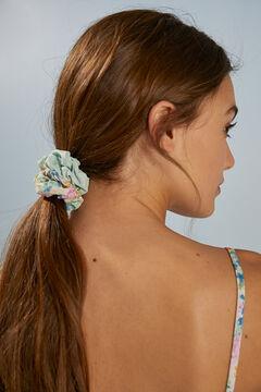 Womensecret 3-pack printed scrunchies white