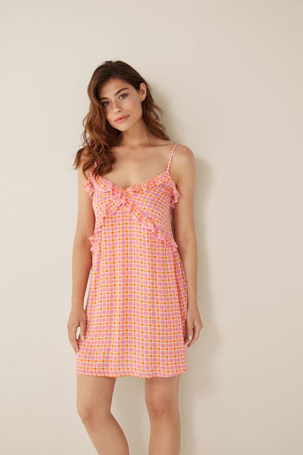 1f08bbc8e Womensecret Vestido corto tirantes rosa