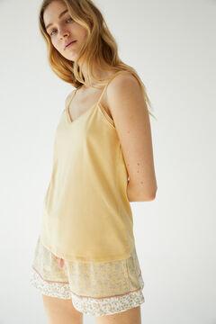 Womensecret Short organic cotton vest pyjamas printed
