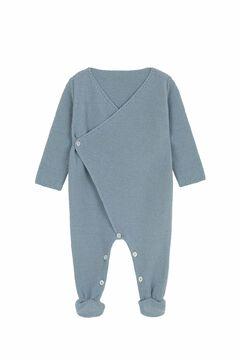 Womensecret Pelele Cruzado bebé azul