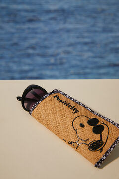 Womensecret Metal sunglasses with Snoopy cover nude