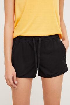 Womensecret Short sports trousers black