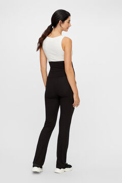 Womensecret Organic cotton maternity trousers black